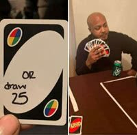 UNO Draw 25 Cards